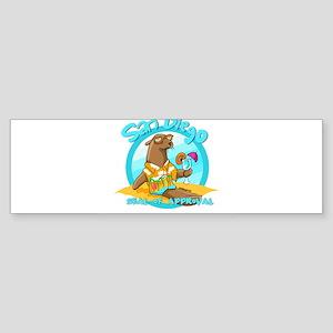 San Diego Seal of Approval Bumper Sticker