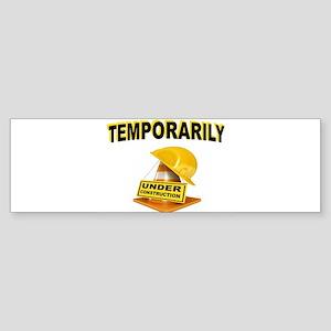 CONSTRUCTION Bumper Sticker