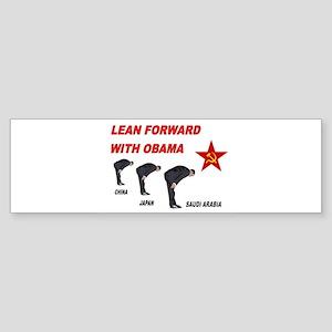 SUBMISSIVE OBAMA Sticker (Bumper)
