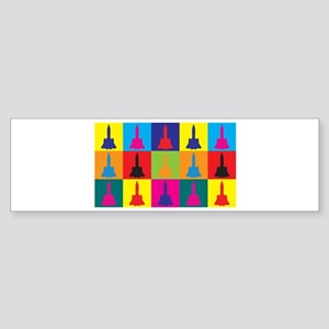 Aerospace Engineering Pop Art Bumper Sticker