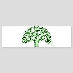 Oakland Tree Green Sticker (Bumper)