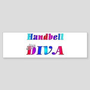 Handbell Diva Bumper Sticker