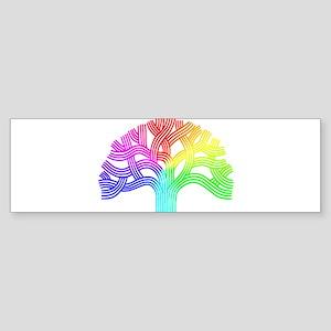 Oakland Tree Rainbow Sticker (Bumper)