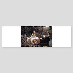 Lady of Shalott Sticker (Bumper)