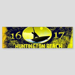 SURF CITY CALIFORNIA Bumper Sticker