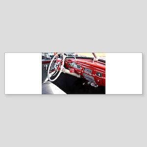 Classic car dashboard Bumper Sticker