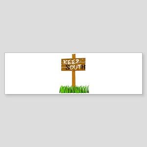 Keep South Sticker (Bumper)