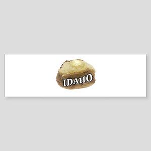 baked potato Idaho Bumper Sticker