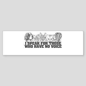animal jobs Bumper Sticker