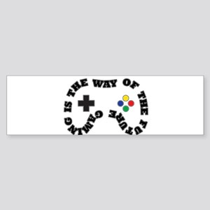 Future Gaming Bumper Sticker