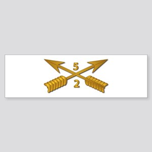 2nd Bn 5th SFG Branch wo Txt Sticker (Bumper)