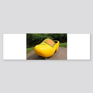 Giant yellow clog, Holland Bumper Sticker