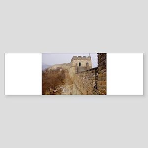 Great Wall Panorama Bumper Sticker