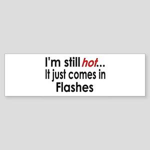 Menopause Hot Flashes Bumper Sticker