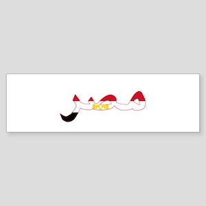 EGYPT ARABIC Bumper Sticker