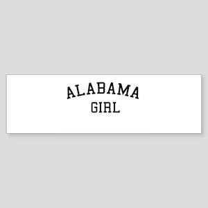 Alabama Girl Bumper Sticker