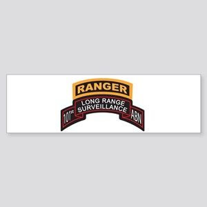 LRS 101st ABN with Ranger Tab Bumper Sticker