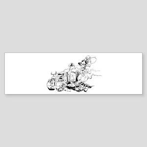 Kenny The Rat Sticker (Bumper)