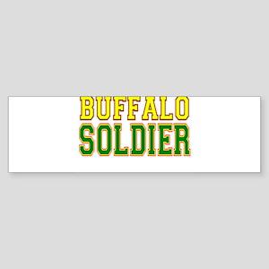 Buffalo Soldier Sticker (Bumper)