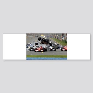 F1 Crash Bumper Sticker