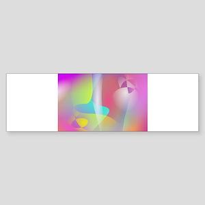 Misty Veils Art Bumper Sticker