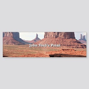 John Ford's Point, Monument Valley, Bumper Sticker