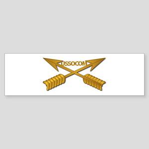 USSOCOM Branch wo Txt Sticker (Bumper)