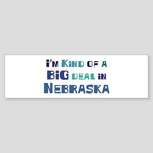 Big Deal in Nebraska Bumper Sticker
