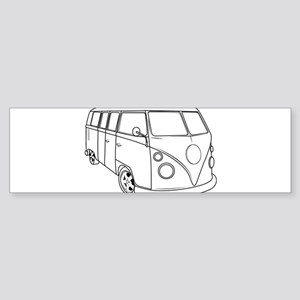 70s Van Sticker (Bumper)