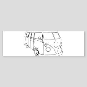 70s Van Sticker (Bumper)