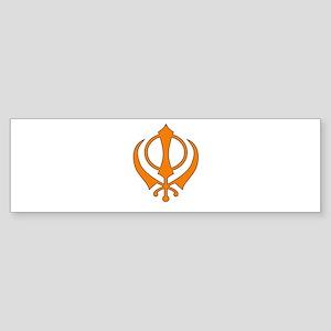 Khanda Bumper Sticker
