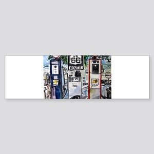 route_66 Sticker (Bumper)