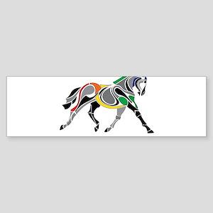 Charkas Horse Bumper Sticker