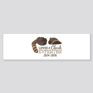 Lewis and Clark Expedition Bumper Sticker