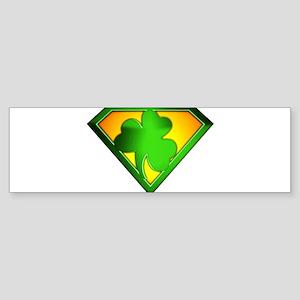 Super Shamrock Sticker (Bumper)