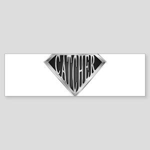 spr_catcher_chrm Sticker (Bumper)