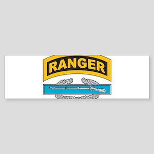 CIB with Ranger Tab Bumper Sticker