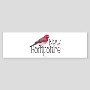 New Hampshire Finch Bumper Sticker