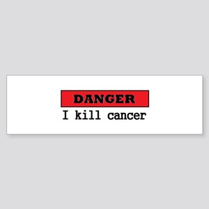 Cancer Fighter Sticker (Bumper)