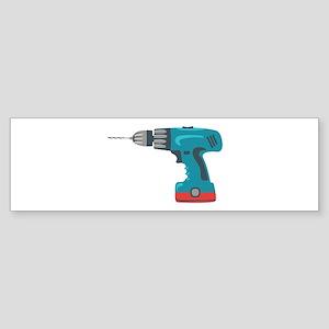 Power Drill Bumper Sticker