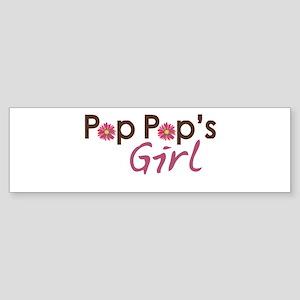 Pop Pop's Girl Sticker (Bumper)