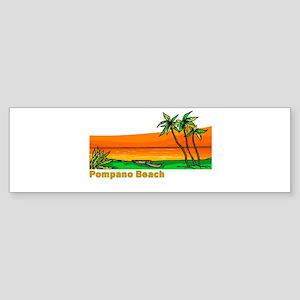 Pompano Beach, Florida Bumper Sticker
