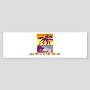 Santa Barbara, California Bumper Sticker
