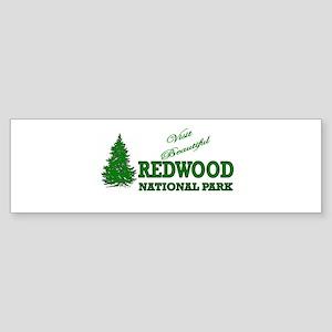 Visit Beautiful Redwood Natio Bumper Sticker