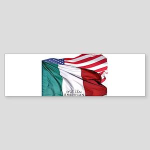 Italian American Sticker (Bumper)