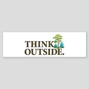 Think Outside Sticker (Bumper)
