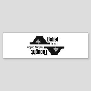 Belief4 Bumper Sticker