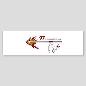 97th Bw Bumper Sticker