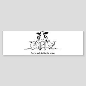 Fun to Pet Bumper Sticker
