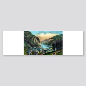 View of Harpers Ferry, Va. - 1907 Sticker (Bumper)
